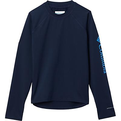 Columbia Youth Sandy Shores LS Sunguard Top - Collegiate Navy