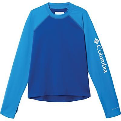 Columbia Youth Sandy Shores LS Sunguard Top - Azul / Azure Blue
