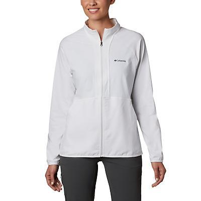 Columbia Bryce Peak Perforated Full Zip Jacket - White - Women