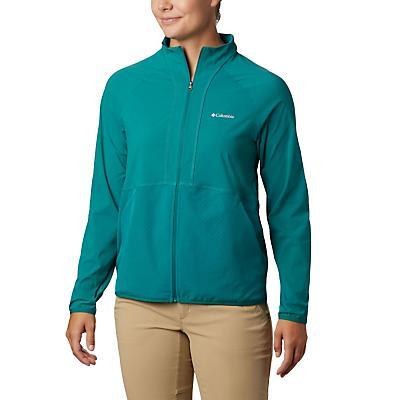 Columbia Bryce Peak Perforated Full Zip Jacket - Waterfall - Women