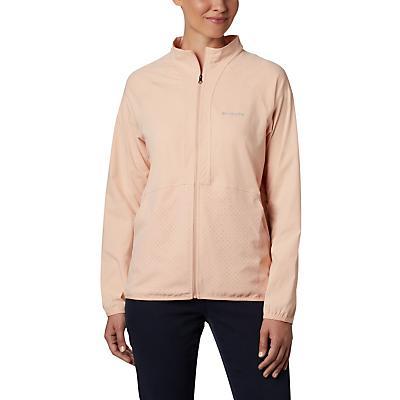 Columbia Bryce Peak Perforated Full Zip Jacket - Peach Cloud - Women