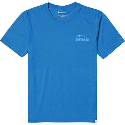 Cotopaxi Small Mountain Sun T-Shirt - Blueberry - Men