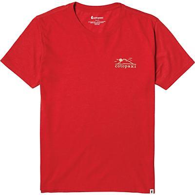 Cotopaxi Small Mountain Sun T-Shirt - Racing Red - Men