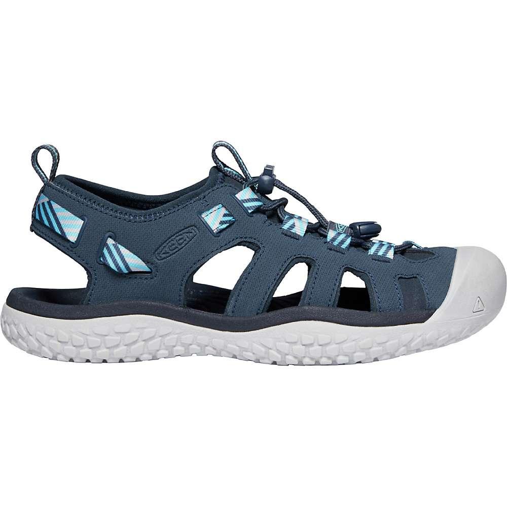 Keen Women s Solr Sandal 6 Navy Blue Mist