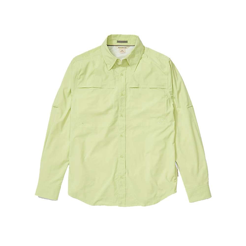 Reviews ExOfficio Mens Tellico LS Shirt - Large - Margarita