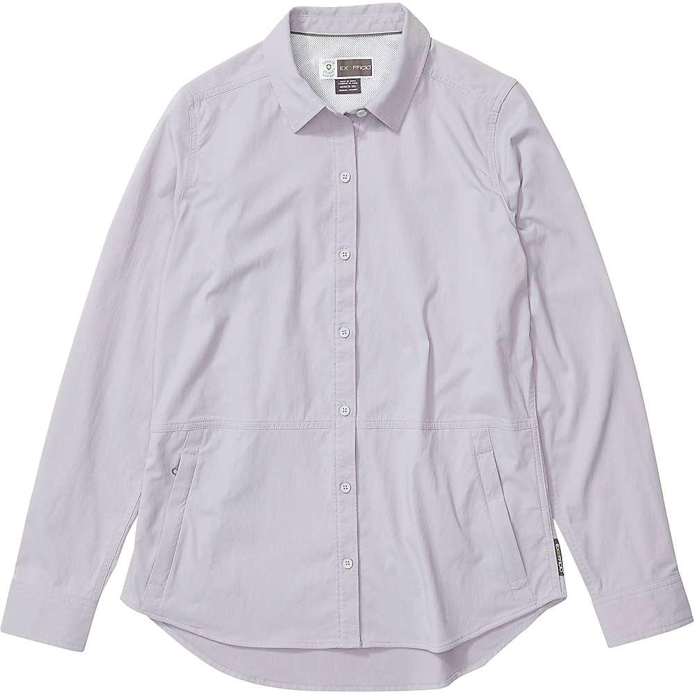 Compare ExOfficio Womens BugsAway Nosara LS Shirt - Medium - Lavender Aura