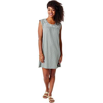 Carve Designs Courtney Dress - Moss Bayside Stripe - Women