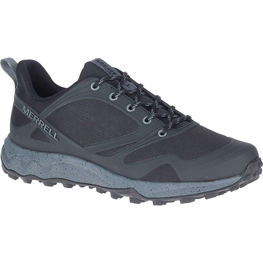 Top Merrell Mens Altalight Shoe - 10.5 - Black / Rock