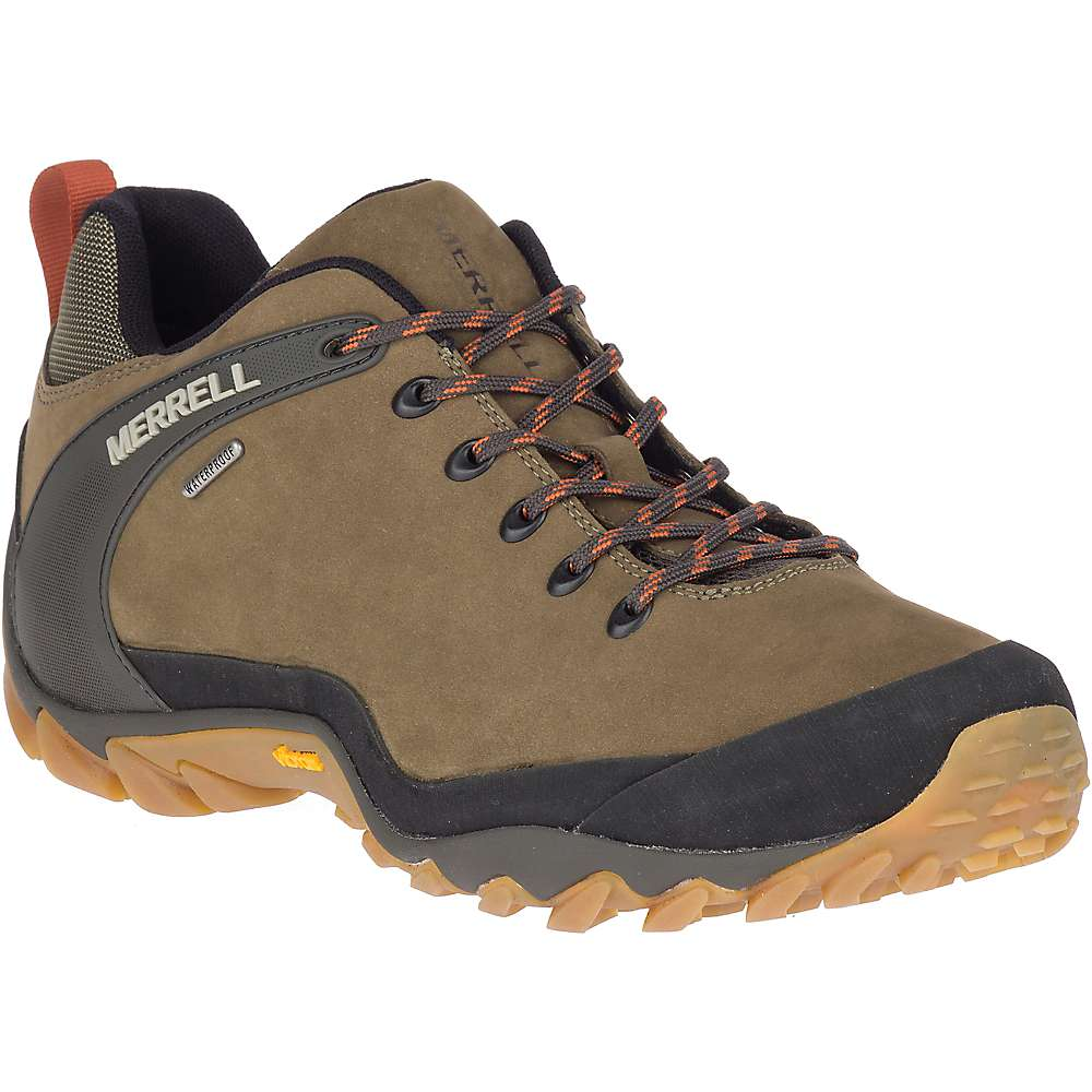 Merrell Men s Chameleon 8 LTR Waterproof Shoe 8 Olive
