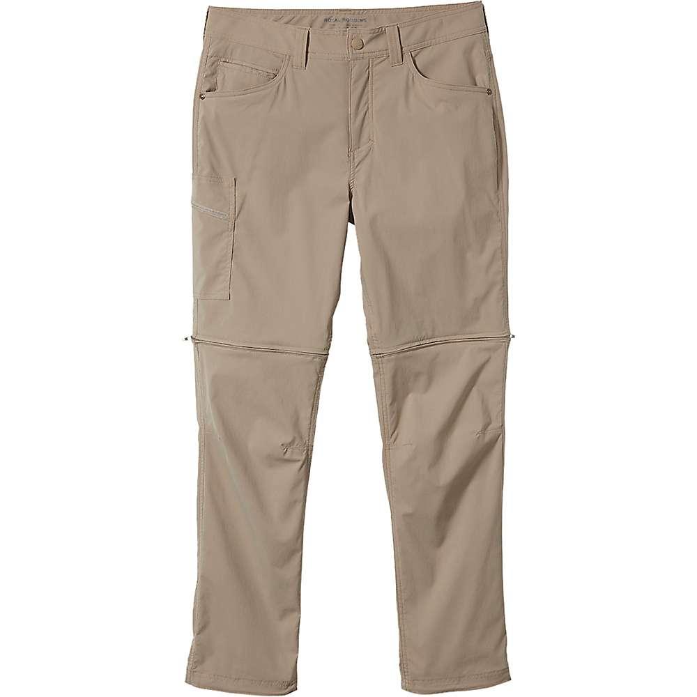 Compare Royal Robbins Mens Active Traveler Zip N Go Pant - 36 x 34 - Khaki