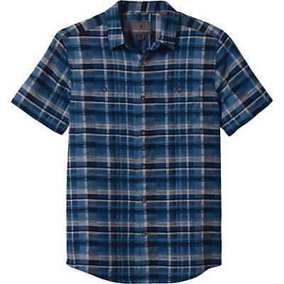 Royal Robbins Slab City Dobby SS Shirt - Cadet