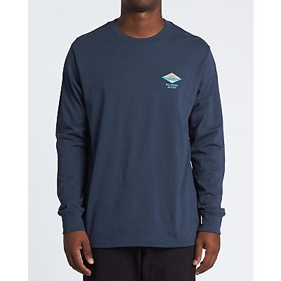 Billabong A Frame LS T-Shirt - Navy - Men