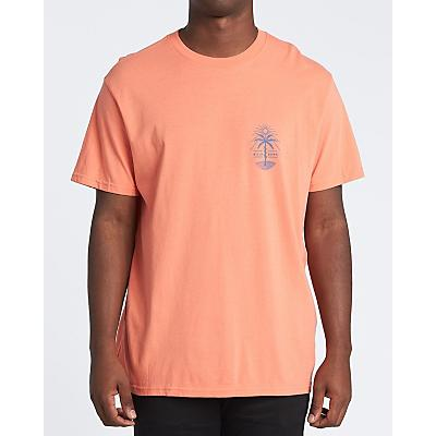 Billabong Treesnake T-Shirt - Coral - Men