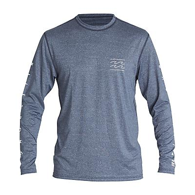 Billabong Unity LF LS T-Shirt - Navy Heather - Men
