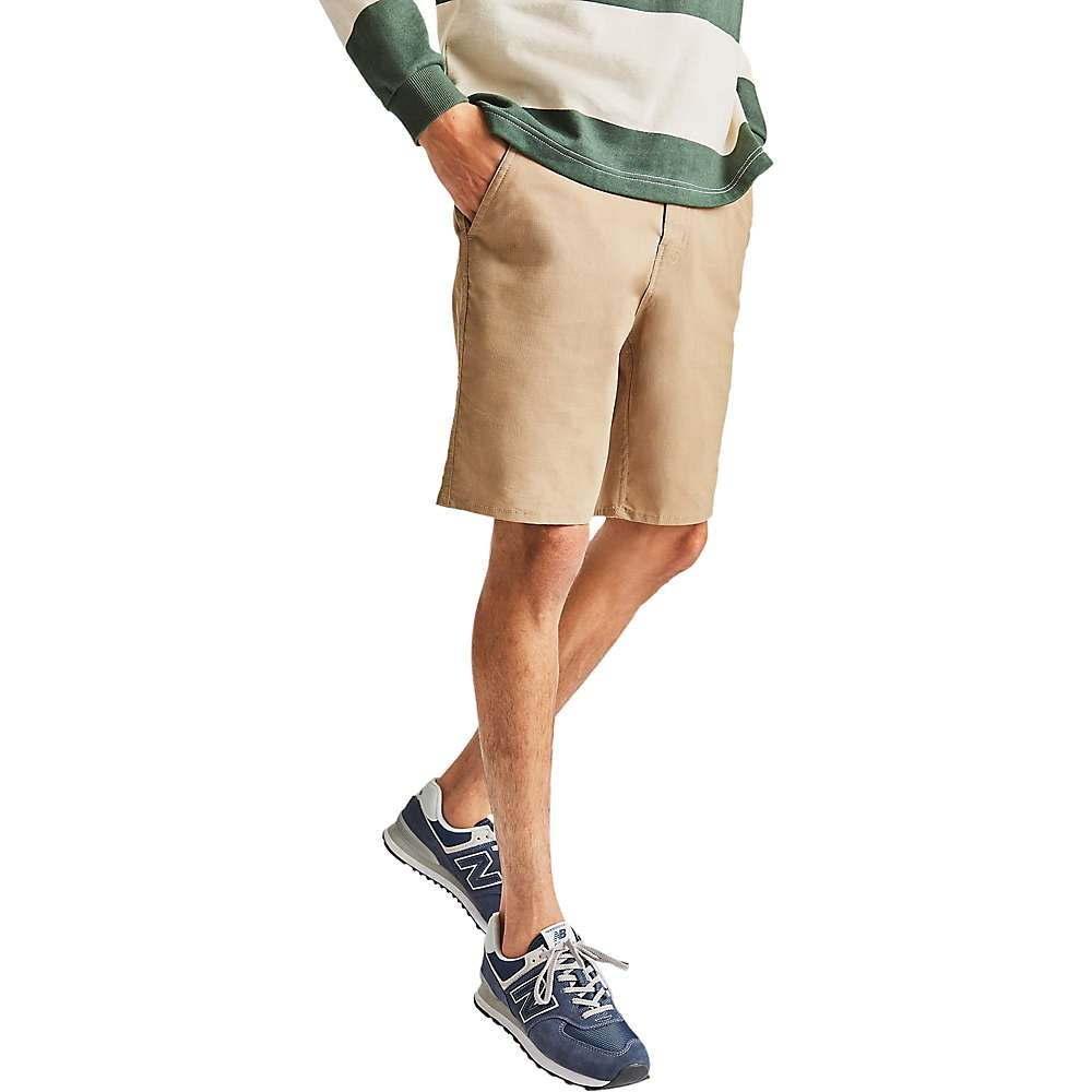 Cheap Brixton Mens Toil X Short - 32 - Khaki