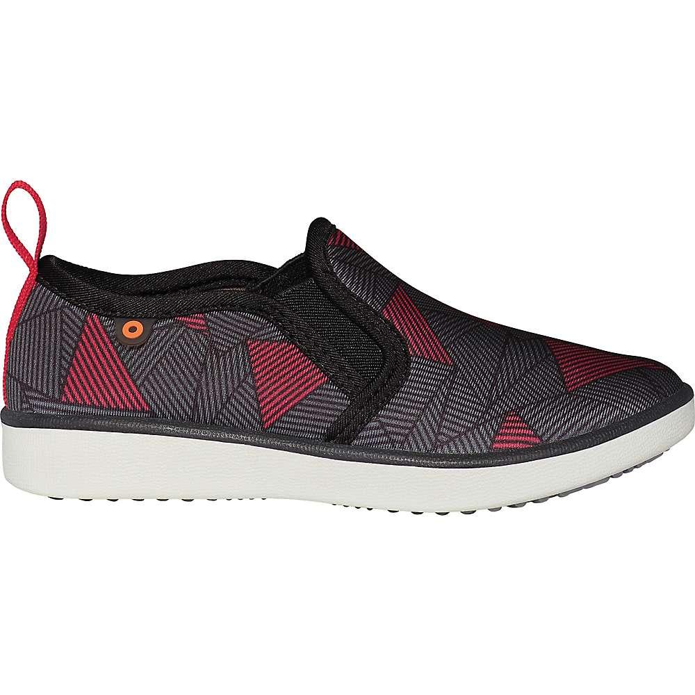 Promos Bogs Kids Kicker Slip Geo Shoe - 5 - Black Multi