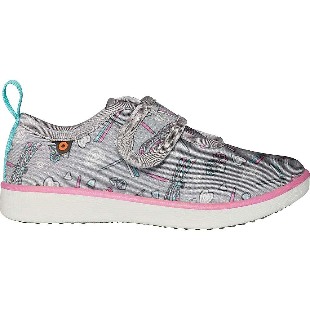Compare Bogs Kids Kicker Strap Dragonfly Shoe - 9 - Light Gray Multi