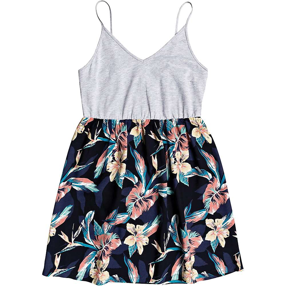 Coupons Roxy Womens Beachy Story Dress - Medium - Anthracite Tropicoco