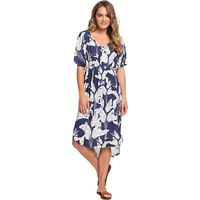 Roxy Flamingo Shades Dress - Mood Indigo Flying Flowers - Women