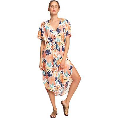 Roxy Flamingo Shades Dress - Peach Blush Bright Skies - Women