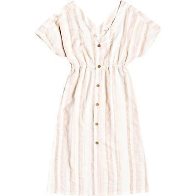 Roxy Joyful Noise Dress - Ivory Cream Nam Nam Stripes - Women