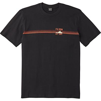 Filson Outfitter SS Graphic T-Shirt - Faded Black - Men