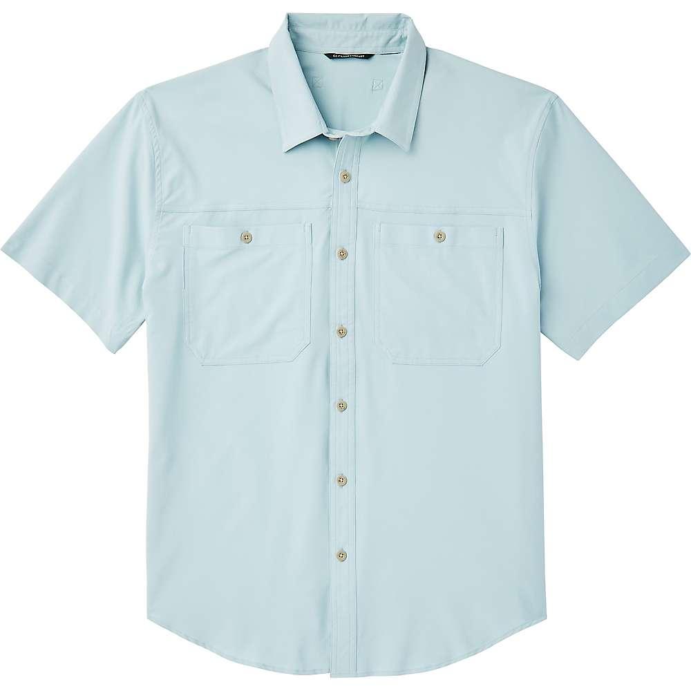Cheap Filson Mens Ultra-Light SS Shirt - Medium - Gulf Blue