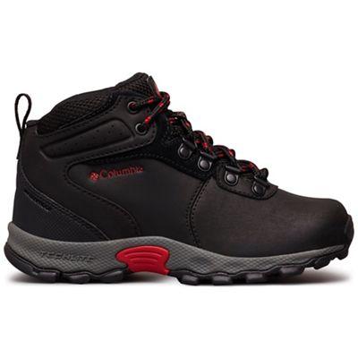 Columbia Youth Newton Ridge Boot - Black / Mountain Red