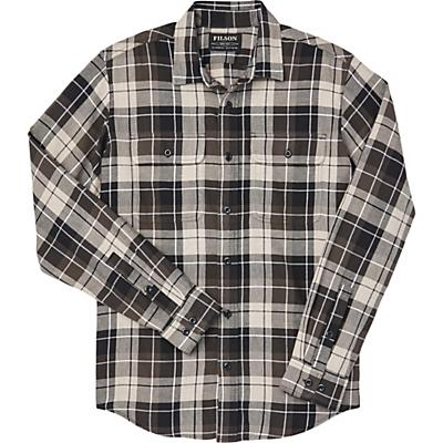 Filson Scout Shirt - Olive / Black / Tan Plaid - Men