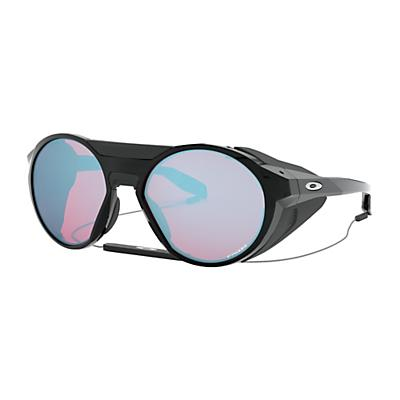 Oakley Clifden Sunglasses - Polished Black/Prism Snow Sapphire
