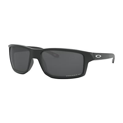 Oakley Gibston Polarized Sunglasses - Matte Black/Prizm Black
