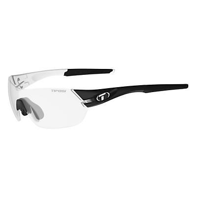 Tifosi Slice Interchangeable Sunglasses - Black / White/Light Night Fototec