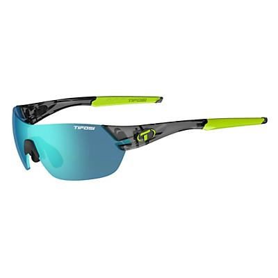 Tifosi Slice Interchangeable Sunglasses - Crystal Smoke/Clarion Blue / AC Red / Clear