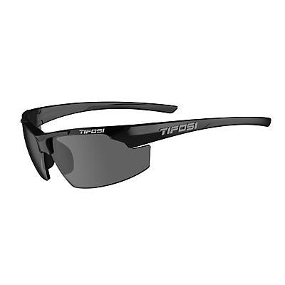 Tifosi Track Single Lens Sunglass - Gloss Black/Smoke