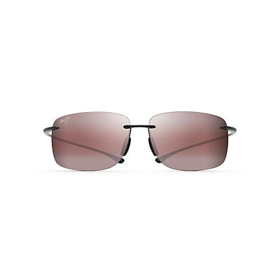 Maui Jim Hema Polarized Sunglasses - Gloss Black / Maui Rose