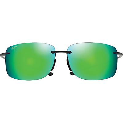Maui Jim Hema Polarized Sunglasses - Matte Black / Maui Green