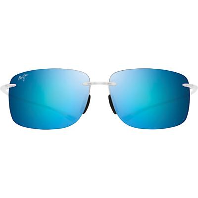Maui Jim Hema Polarized Sunglasses - Matte Crystal / Blue Hawaii