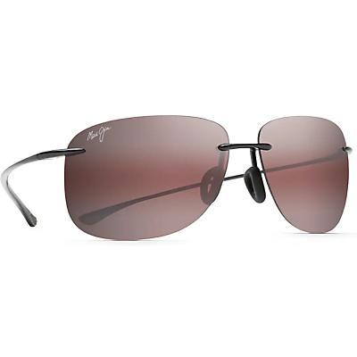 Maui Jim Hikina Polarized Sunglasses - Gloss Black / Maui Rose