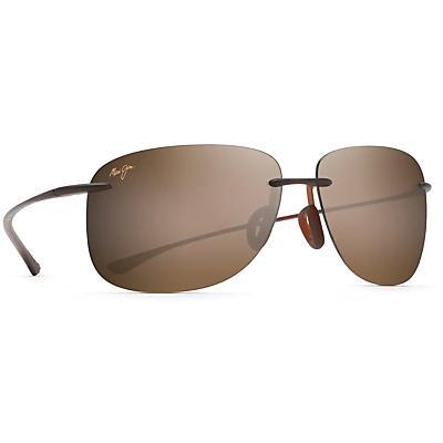 Maui Jim Hikina Polarized Sunglasses - Matte Rootbeer / HCL Bronze