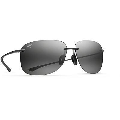 Maui Jim Hikina Polarized Sunglasses - Matte Grey / Neutral Grey