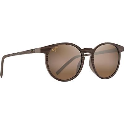 Maui Jim Kiawe Polarized Sunglasses - Brown Stripe / HCL Bronze
