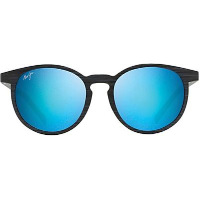 Maui Jim Kiawe Polarized Sunglasses - Dark Navy Stripe / Blue Hawaii