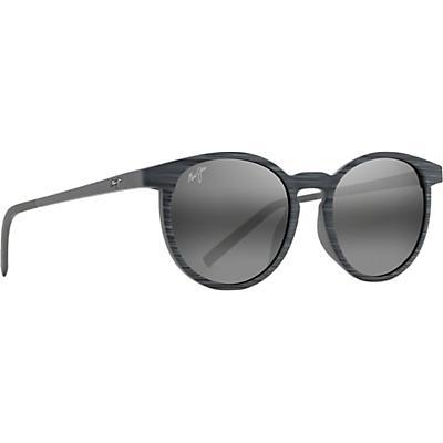 Maui Jim Kiawe Polarized Sunglasses - Grey Stripe / Neutral Grey