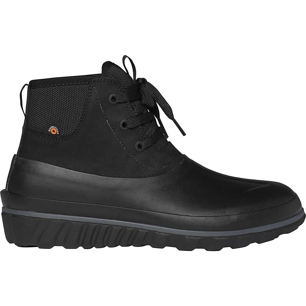 Top Bogs Mens Classic Casual Lace Leather Boot - 11 - Black