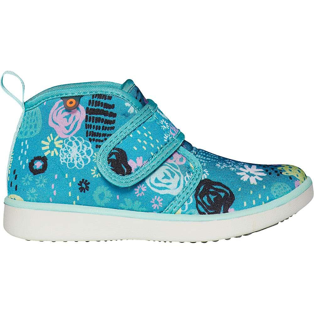 Discounts Bogs Kids Kicker Mid Garden Party Shoe - 5 - Teal Multi