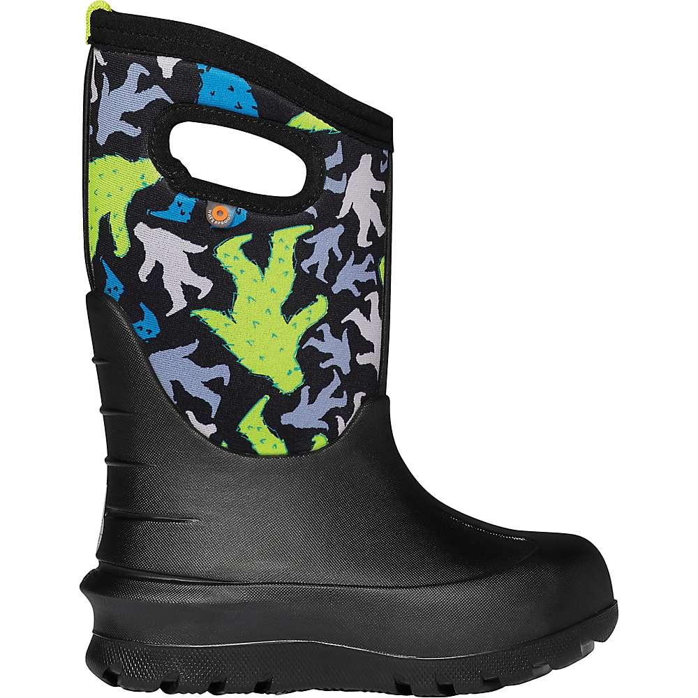 Reviews Bogs Kids Neo Classic Bigfoot Boot - 7 - Black Multi