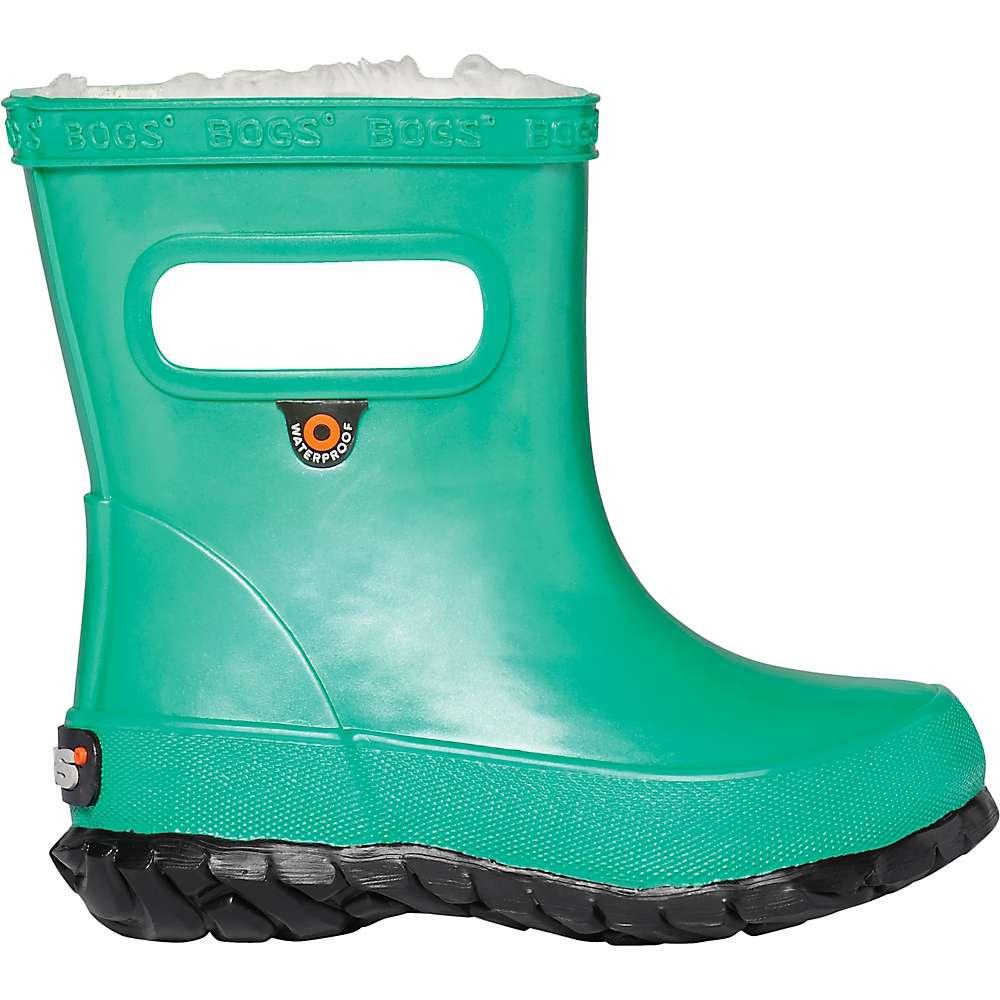 Promos Bogs Kids Skipper Metallic Plush Boot - 6 - Turquoise