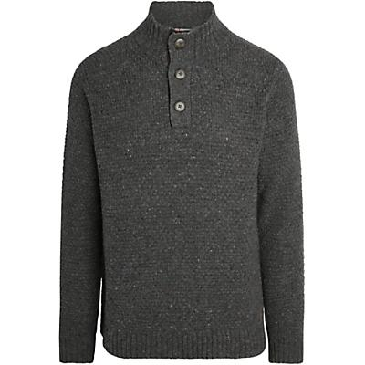 Sherpa Rabgyal Pullover Sweater - Kharani Grey - Men