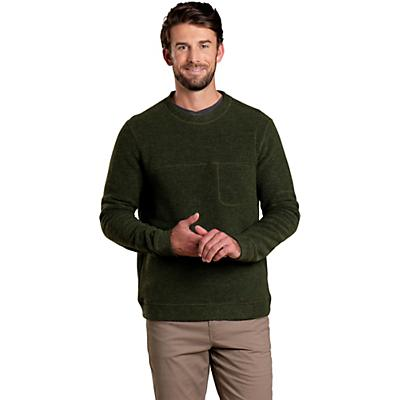 Toad & Co Breithorn Crew Sweater - Olive - Men