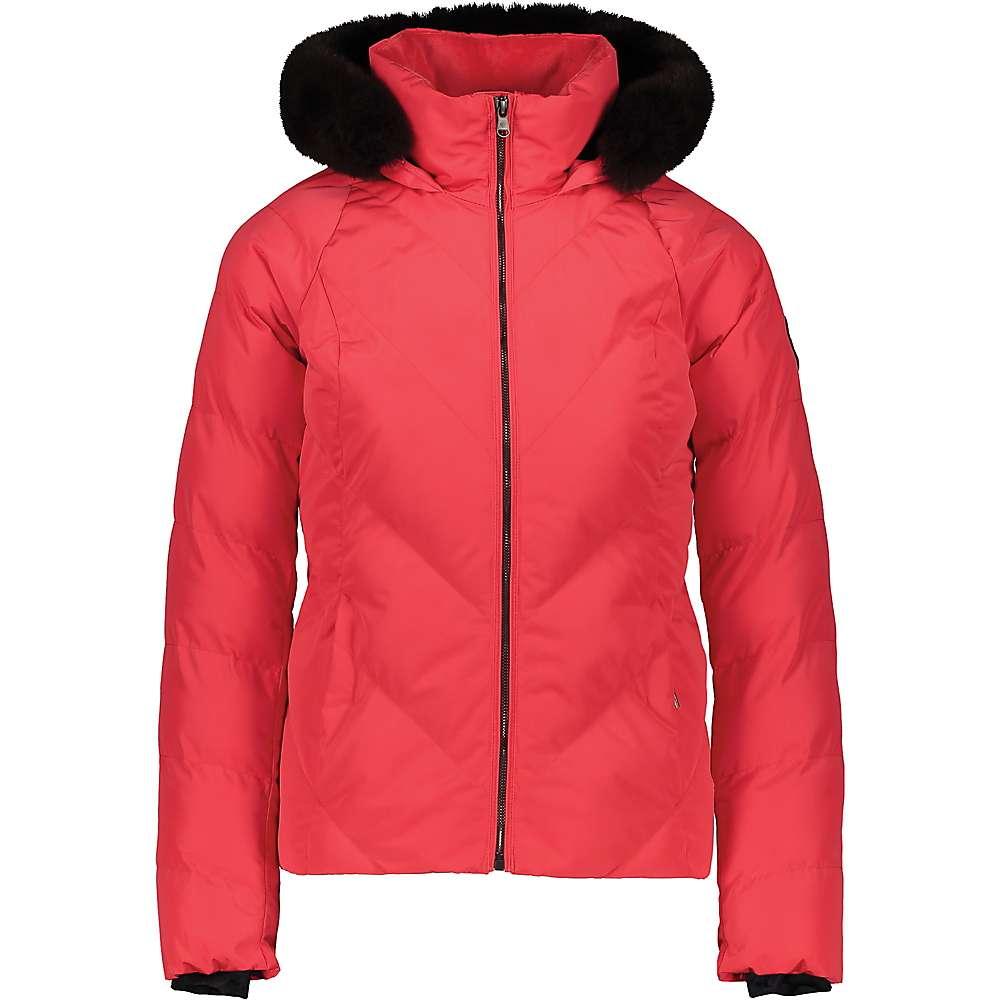 Discounts Obermeyer Womens Bombshell Jacket - 4 Regular - Hibiscus